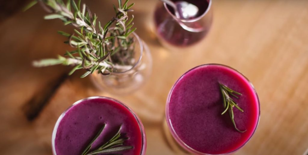 MARINATED BEETS WITH ROSEMARY