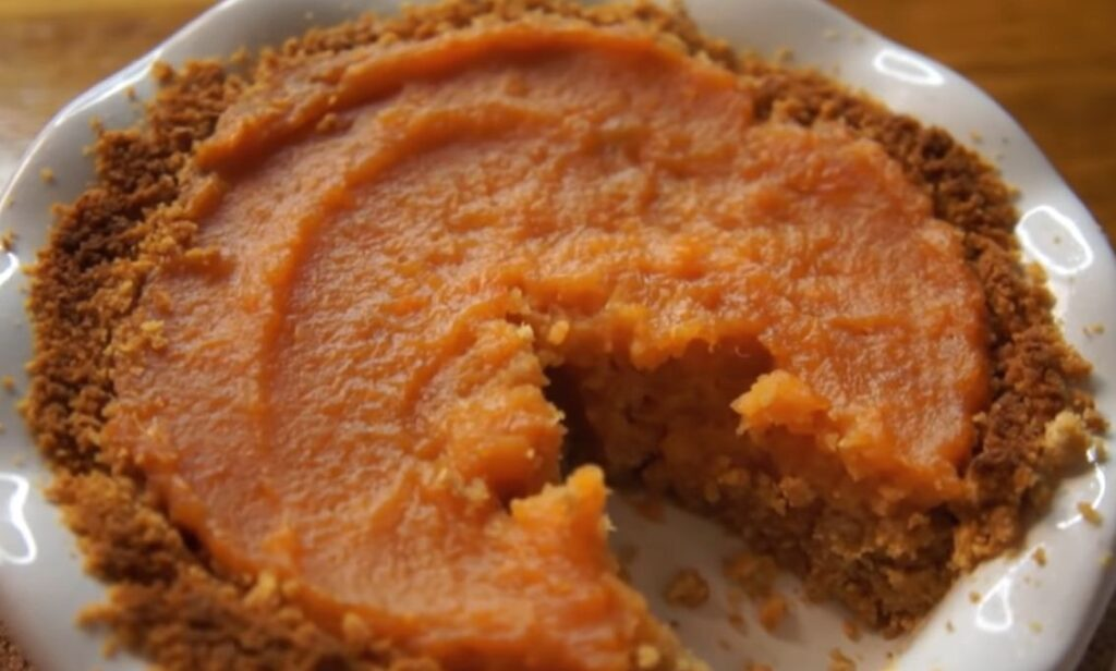 Prison recipes-SWEET POTATO PIE