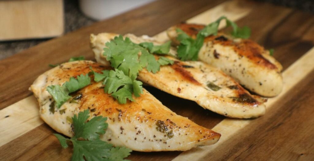 PERFECT INSTANT POT CHICKEN BREAST USING SOUS VIDE