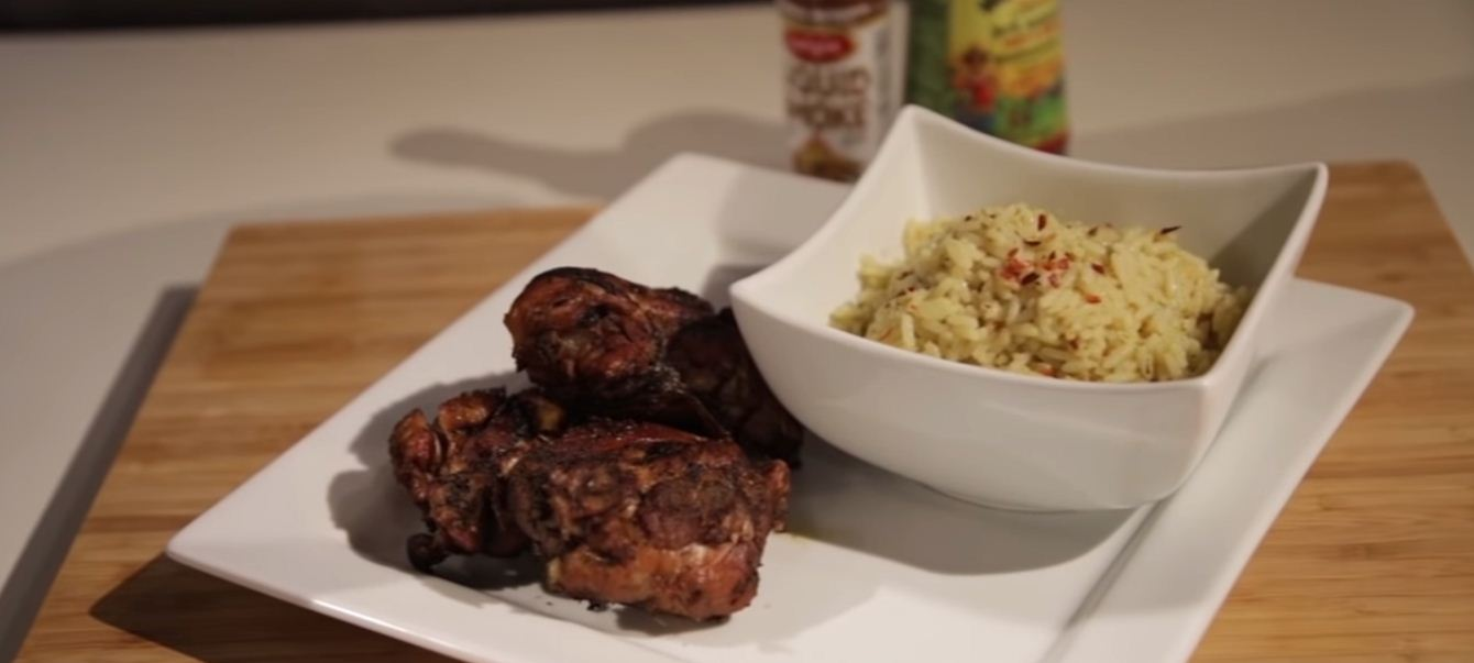 Instant Pot Jerk chicken