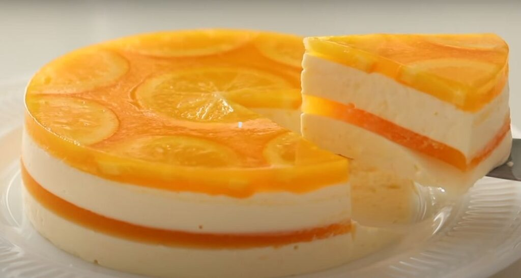 ORANGE CHEESE CAKE
