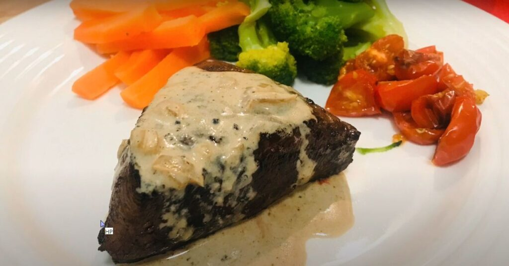 Peppercorn sauce without cream
