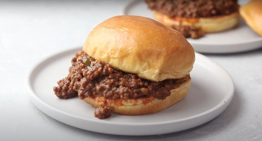 Instant pot sloppy joes