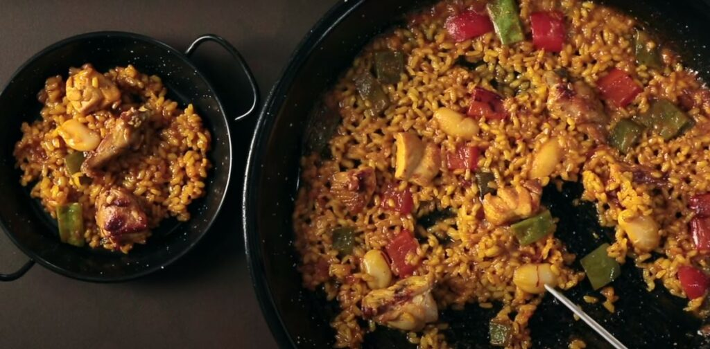 Quick Chicken Paella