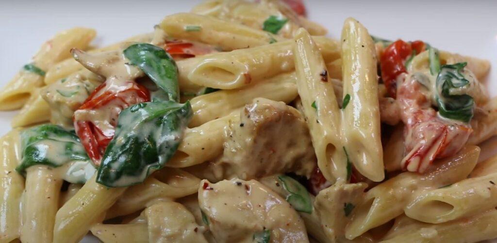 Chicken Florentine style recipe