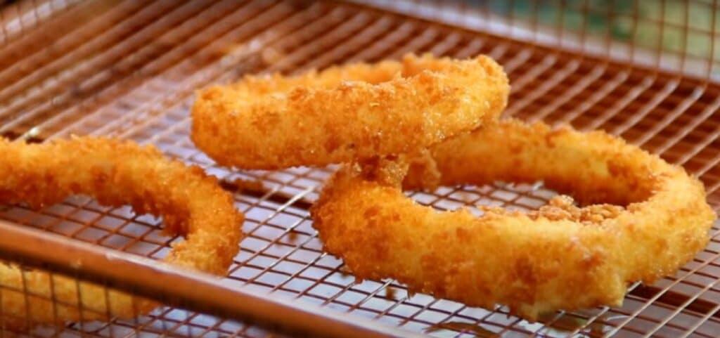 5 Ingredients Keto Onion Rings