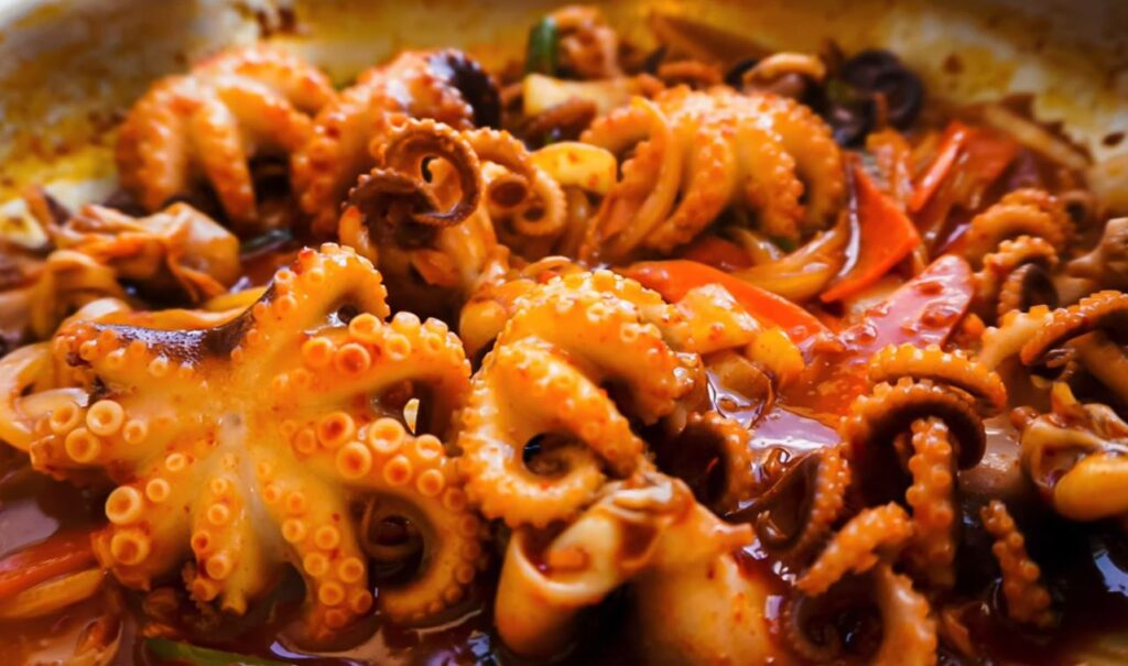 Baby Octopus recipes