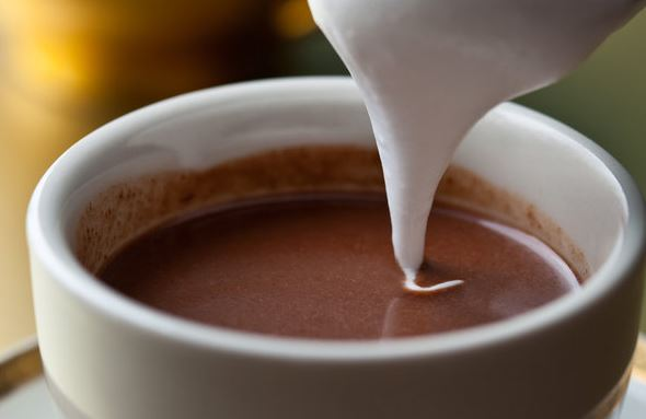 HOW TO MAKE COCONUT MILK HOT CHOCOLATE