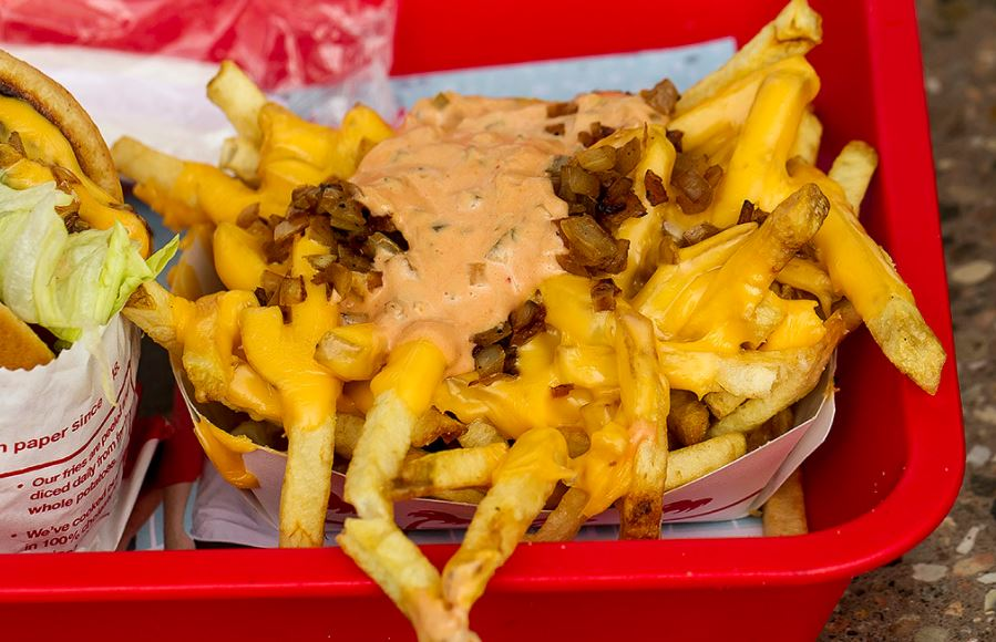 IN AND OUT ANIMAL STYLE FRIES