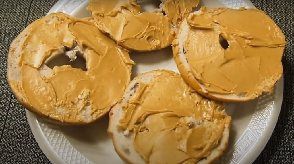 PEANUT BUTTER + TASTY BAGEL
