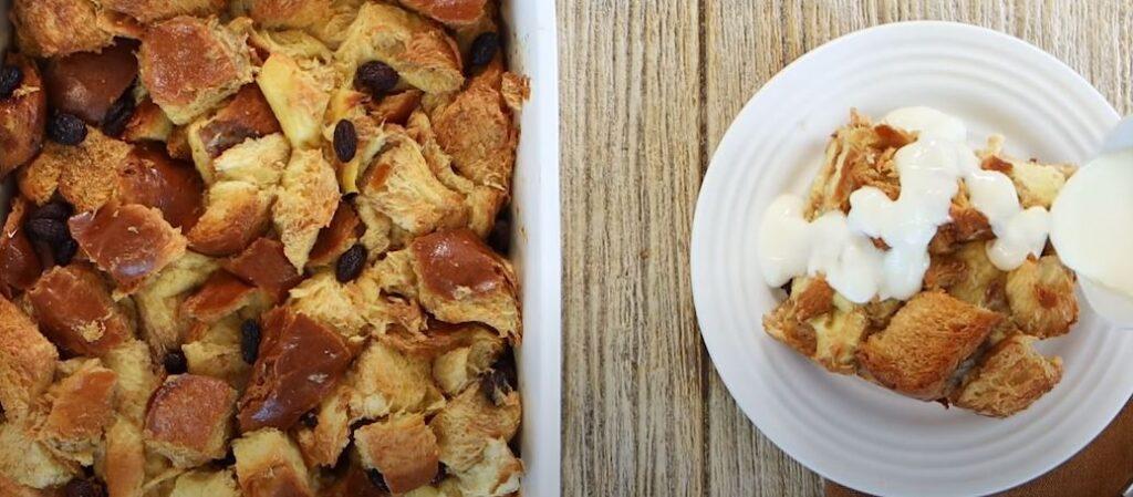 Cinnamon-Raisin Bread Pudding Recipe