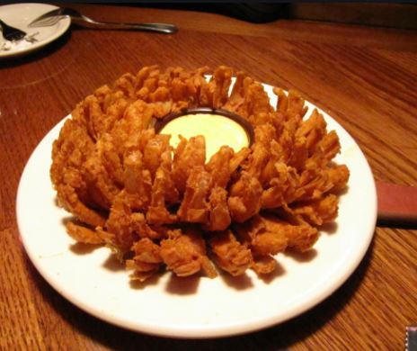 What is a blooming onion