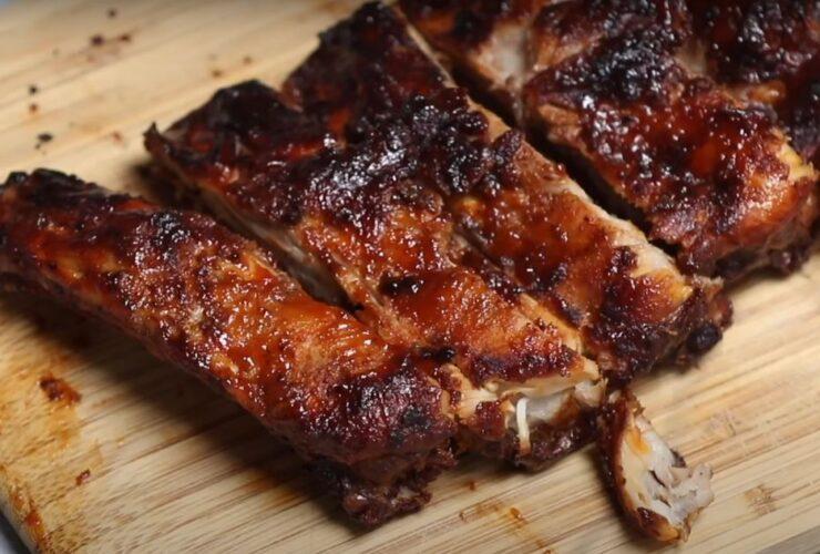 Air fryer ribs recipe