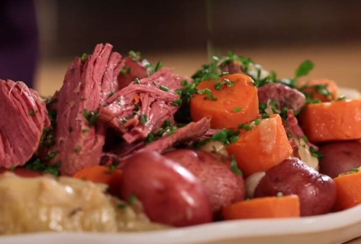 Pressure cooker corned beef and cabbage recipe