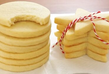 Sugar cookie recipe homemade version