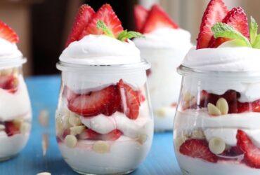 Healthy breakfast yogurt parfait recipes