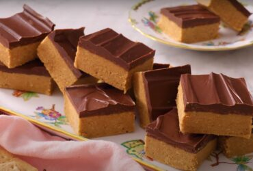 Peanut butter rice Krispie bars recipe