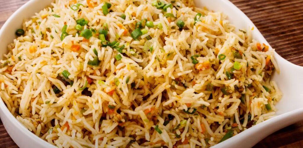 pressure cooker rice recipe